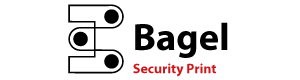 Bagel Security Print Logo